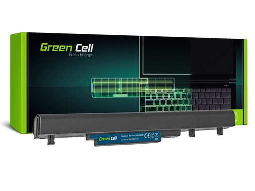 [GCL.AC53] Green Cell baterija za Acer TravelMate 8372 8372G 8372Z 8481 8481G / 14,4V 2200mAh