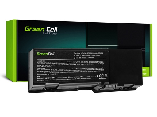 [GCL.DE20] Green Cell baterija za Dell Inspiron E1501 E1505 1501 6400 / 11,1V 4400mAh