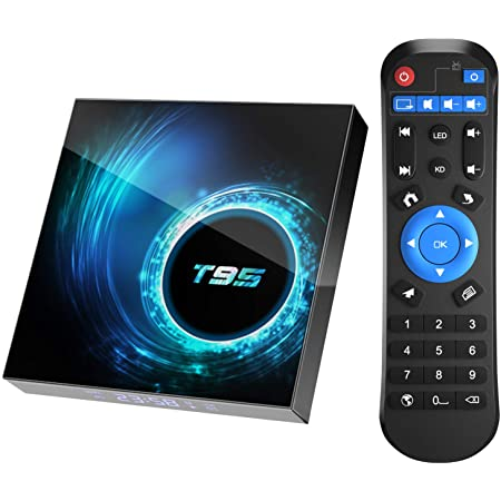 T95 Allwinner H616 Android 10, TV sprejemnik Dual WiFi 2.4G & 5G
