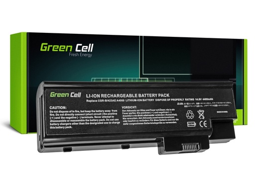 [GCL.AC20] Green Cell Battery for Acer Aspire 5620 7000 9300 9400 / 14,4V 4400mAh