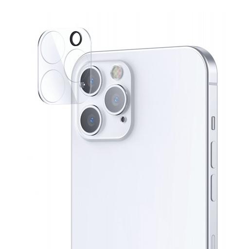 [HRT.71591] Joyroom Mirror Series polno zaščitna kamera, kaljeno steklo za iPhone 12 Pro, prozorno