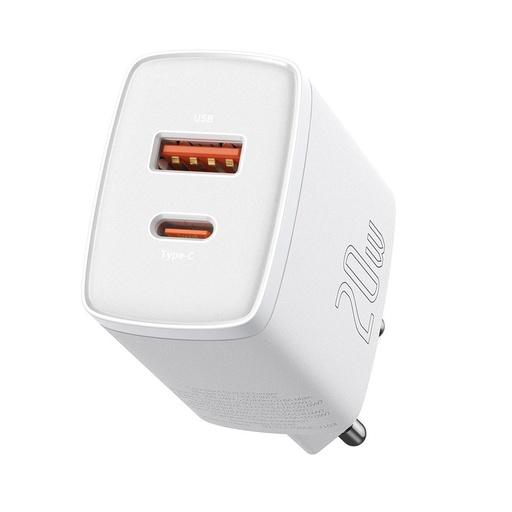 Baseus kompaktni hitri polnilnik USB Type C / USB 20 W 3 A Power Delivery Quick Charge 3.0